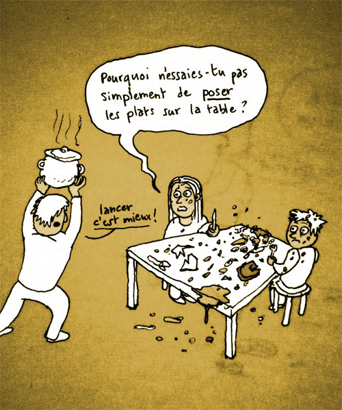 Dessin mettre la table pictures to pin on pinterest thepinsta - Comment mettre le couvert a table ...